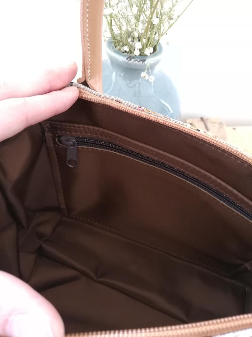 "Sac à main de la collection ""Chatons"" (ref 8945.71) Royal Tapisserie / Handbag tapestry"