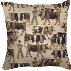 "Coussin "" La Poya "" Royal Tapisserie cushion tapestry"