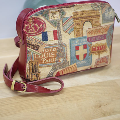 sac tapisserie Royal Tapisserie fleurs château de versailles tapisserie royale sac fabriqué en france savoir faire