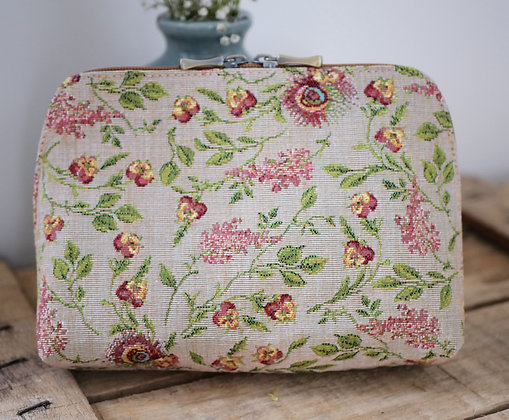 Sac marie antoinette versailles trousse pochette coussin Royal Tapisserie tapestry handbag pencil case pouch cushion france