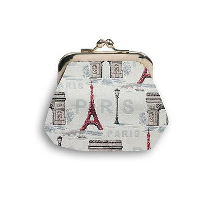 402.50 Porte-monnaie rétro Rouge Paris