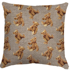 """Coussin """" Ourson """"  - Royal Tapisserie cushion tapestry Bears"""