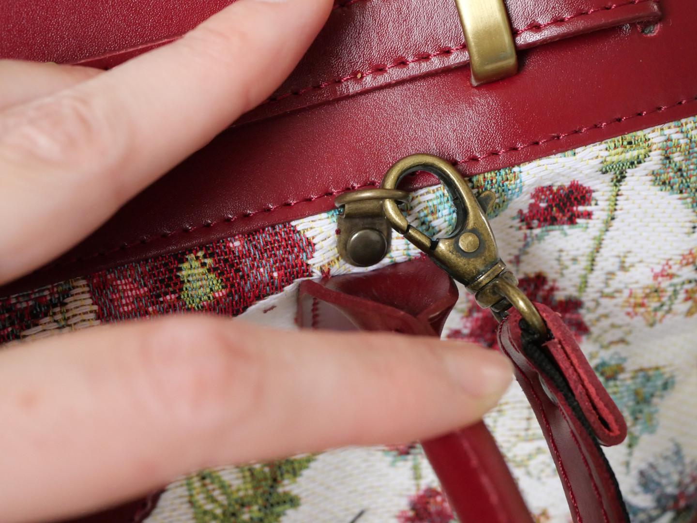 """Sac à main de la collection """"Fleurs des Champs"""" (ref 8967.74) Royal Tapisserie / Handbag tapestry"""