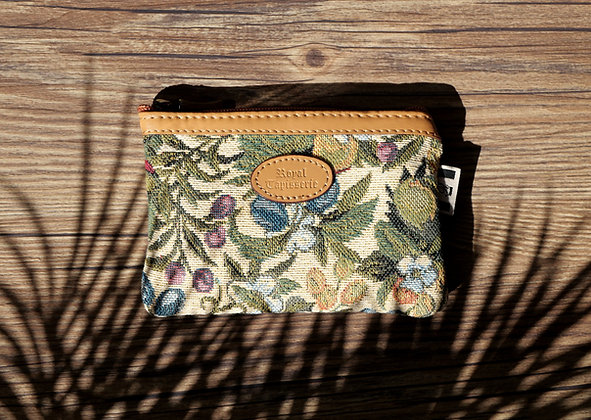 Pocket for facial mask royal tapestry handbag royal tapisserie made in france product from france castle tapestry french gift