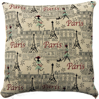 coussin tapisserie paris france parisienne jacquard royal tapisserie tapestry cushion french parisian Paris royal tapestry