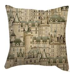 "Coussin ""Les Châteaux"" - Royal Tapisserie cushion tapestry Castles"