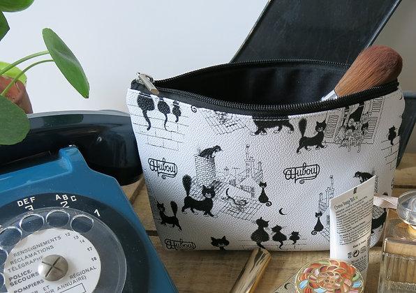 Les chats de dubout pochette trousse sac à main porte-monnaie etui lunettes pencil case bag handbag glasses case cats