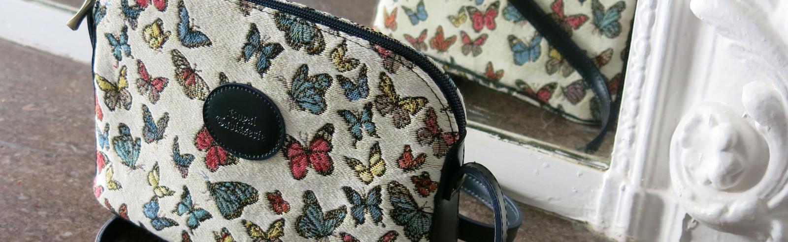 Royal Tapisserie made in France tapestry handbag french