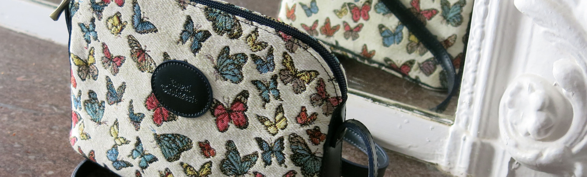 Royal Tapisserie made in France tapestry handbag french
