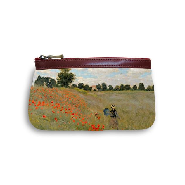 """Trousse maquillage """"Les Coquelicots"""" Claude Monet - Référence: 8850M2"""
