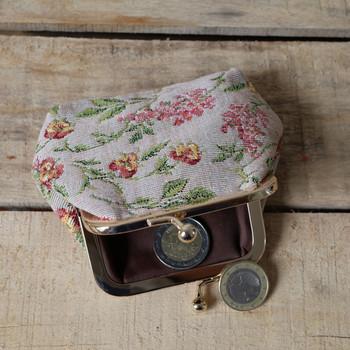 """Porte-monnaie rétro de la collection """"Broché de la Reine Marie-Antoinette"""" (ref 402.65) Royal Tapisserie coin purse tapestry"""