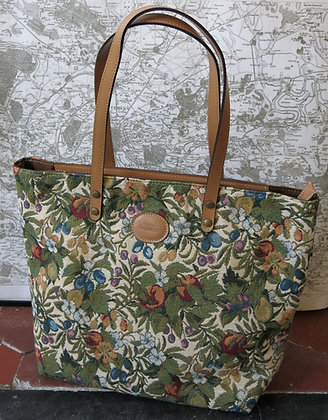 8976.1 Sac shopping Fleurs de Prunier