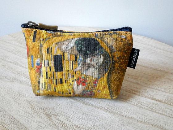 419K1 porte-monnaie Le Baiser de Gustav Klimt