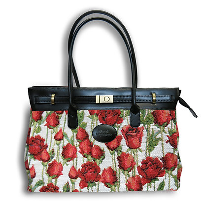 8963.66 Maxi bag Roses Rouges