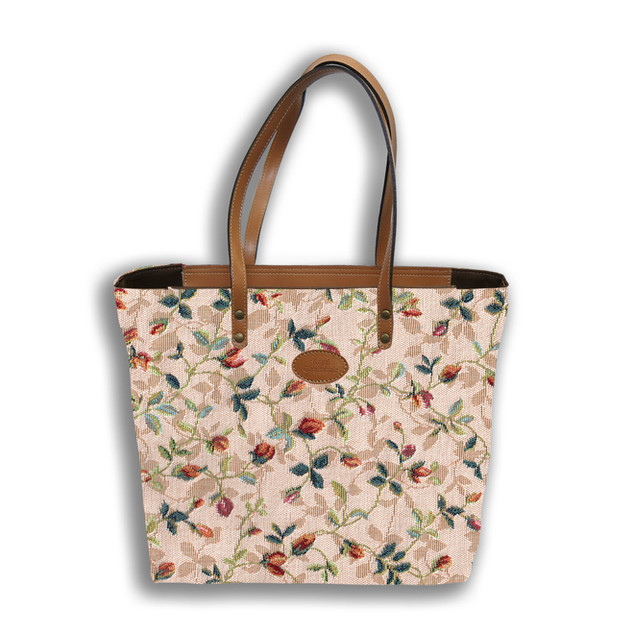 """Sac shopping de la collection """"Printemps""""  Référence 8976.85 Royal Tapisserie"""
