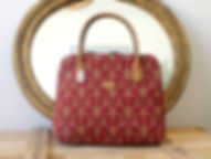 Royal Tapisserie handbags made in france lilies flower versailles