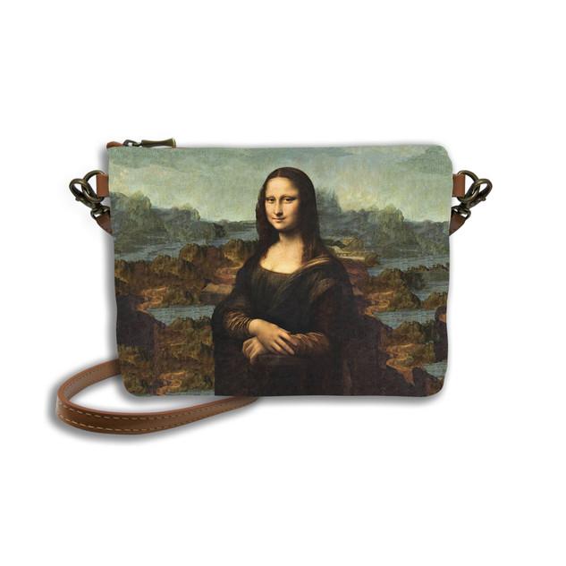 """Sac bandoulière """"La Joconde"""" de Leonard de Vinci Référence 8972J1"""