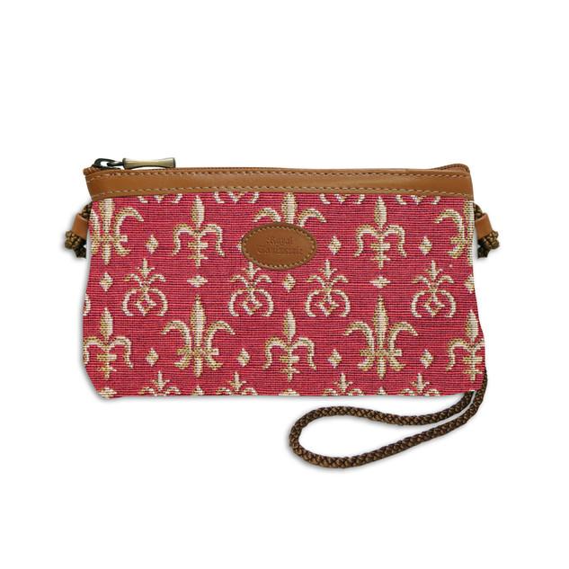 """Nouveau sac cordon de la collection """"Fleurs de Lys ROUGE"""" - Référence 8977.83 Royal Tapisserie"""