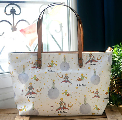 Sac shopping Le Petit Prince sac à main trousse porte monnaie pencil case handbag coin purse The Little Prince