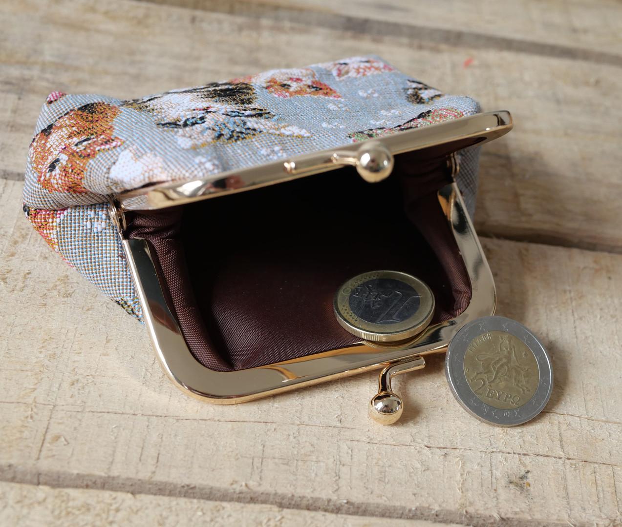 """Porte-monnaie rétro de la collection """"Chatons"""" (ref 402.71) Royal Tapisserie / coin purse tapestry"""