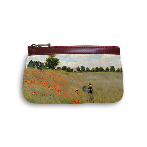 """Trousse maquillage """"Les Coquelicots"""" Claude Monet - Référence 8850M2"""