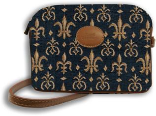 """Sac bandoulière """"Fleurs de Lys"""" - Référence Royal Tapisserie 8901"""