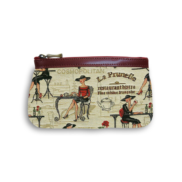 Trousse collection COCKTAIL GIRL (tissu n°27)