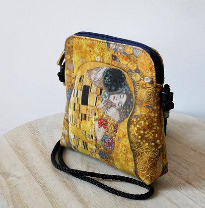 8971K1 sac 3 courses Le Baiser de Gustav Klimt