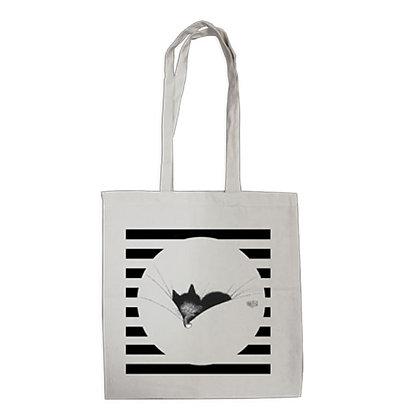 Les chats de dubout tote bag eco bag gros dodo pochette trousse sac main trio pencil case bag handbag cats