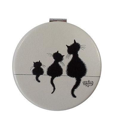 """5311 Miroirs de poche """"Le Trio""""  Les Chats de Dubout"""
