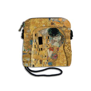 "Petit sac cordon ""Le Baiser"" Gustav KLIMT  Référence 8971K1"