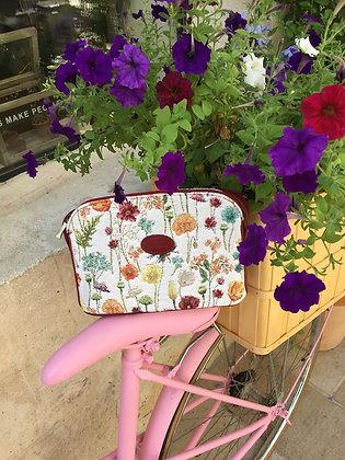 sac royal tapisserie fabriqué en france sac fabrication francaise royale tapisserie lys fleurs de lys cadeau pour femme