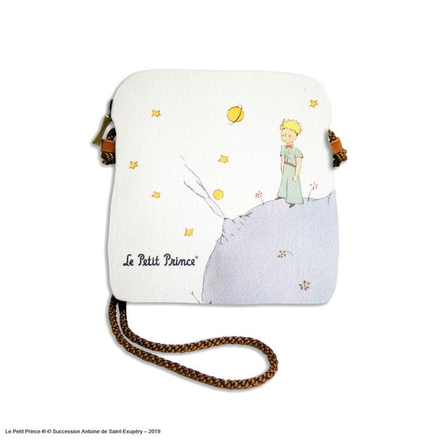 """Petit sac cordon """"Le Petit Prince sur sa planète"""" - Référence 8971PL"""
