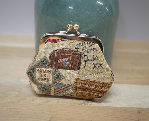 porte monnaie fabriqué en france porte monnaie royal tapisserie royale tapisserie porte monnaie retro porte monnaie clip