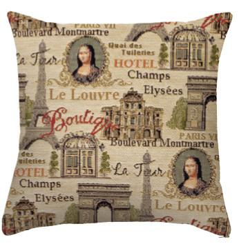 "Coussin ""Champs Elysées"" Royal Tapisserie cushion tapestry 2019"