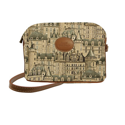 sac royal tapisserie chateaux châteaux coussin fabriqué en france handbag tapestry lilies made in france cushion bag woven
