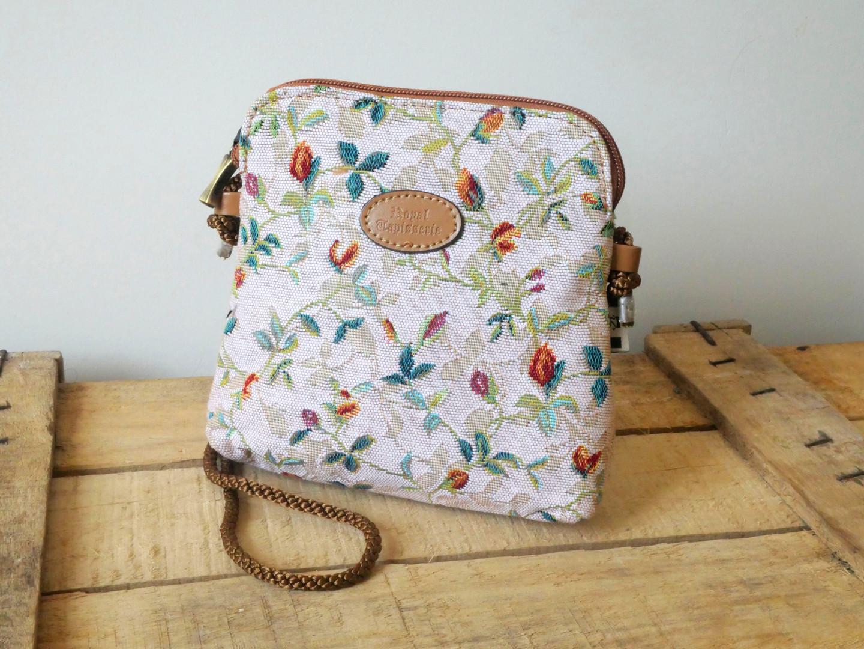 """Petit sac 3 courses de la collection """"Printemps"""" (ref 8971.85) Royal Tapisserie / Shopping bag tapestry"""