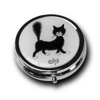 Les chats de dubout boite à pilules mignonette sac main piluliers etui lunettes trio pencil case bag handbag glasses cats