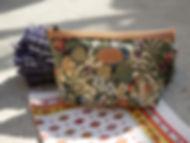 Trousse / pochette Royal Tapisserie pencil case tapestry royal handbag tapestry trouse lanvande lanvander france