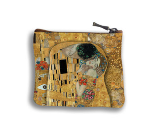 "Porte-monnaie carré ""Le Baiser"" Gustav KLIMT - Référence 438K1"