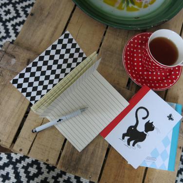 Stylo stylet carnet Les Chats de Dubout