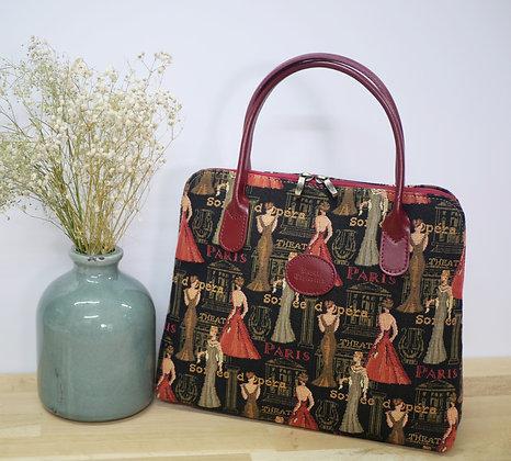 sac royal tapisserie fabriqué en france opéra paris sac de soirée cadeau paris