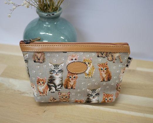 cadeau pour fan de chat cadeau pour amoureux des chats sac motif chat sac royal tapisserie paris sac fabriqué en france