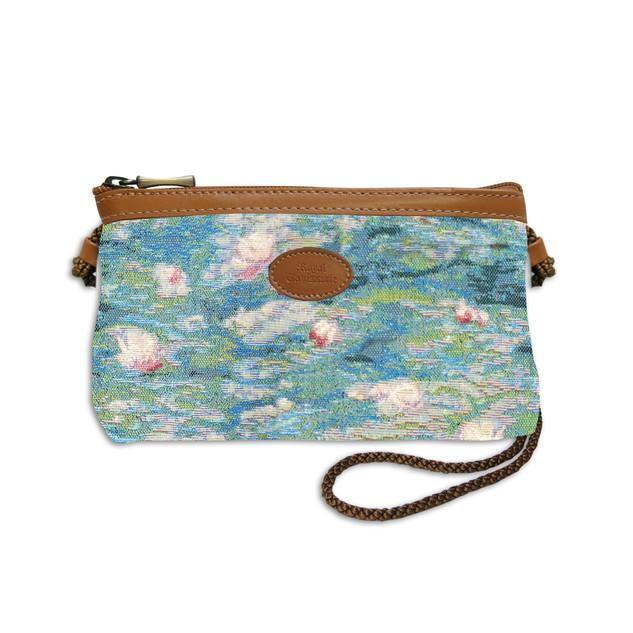 """Nouveau sac cordon de la collection """"Bassin aux Nympheas""""  Référence 8977.84 Royal Tapisserie"""