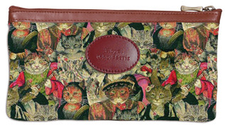 Trousse collection CHAT BEAUTE (tissu n°25)