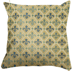 Coussin Royal -  Royal Tapisserie cushion tapestry Lily Flower