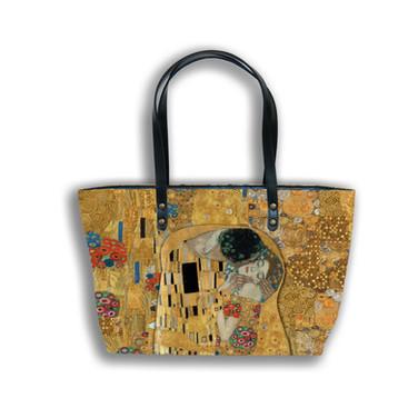 "Sac shopping ""Le Baiser"" Gustav Klimt - Référence 8975K1"