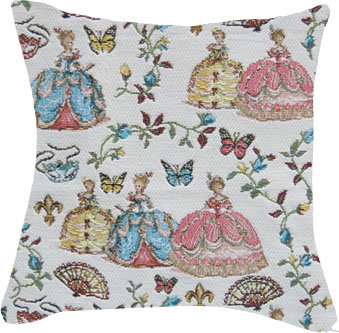 cushion tapestry marie-antoinette versailles royal tapisserie made in france palace of versailles tapestry france handbag