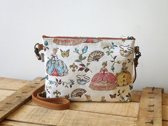 tapestry handbag royal tapisserie royale made in france marie antoinette tapestry versailles gift from france