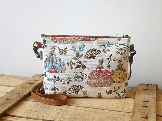 tapestry handbag royal tapisserie royale made in france marie antoinette tapestry versailles gift from france
